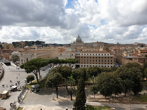 Rome (view from Castle of the Holy Angel) 2019