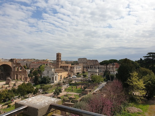 Rome (view at Colosseum) 2019